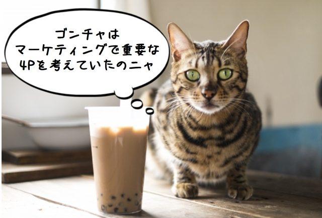 4Pを語る猫